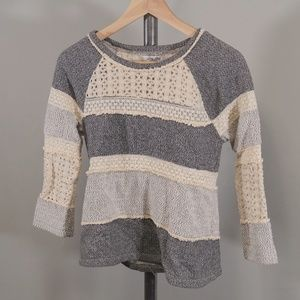 Lucky Brand Patch Sweater